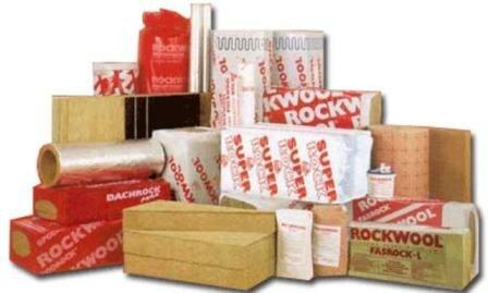 Теплоизоляционные материалы Rockwool купить Киев Роквул